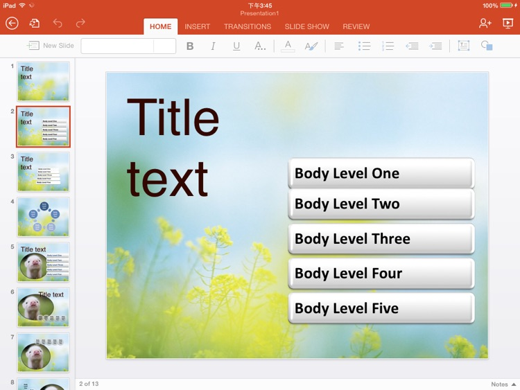 Templates for Microsoft PowerPoint Free screenshot-3
