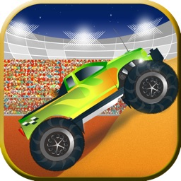 Monsters Trucks Night Show - The Infernal Coliseum Race game - Free Edition