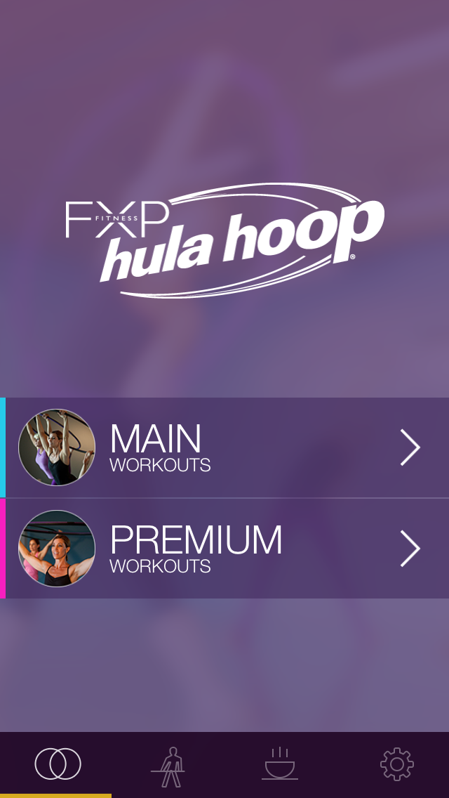 FXP Hula Hoop: Workout and Fitness Plan for Toning and Shaping Your Body screenshot one