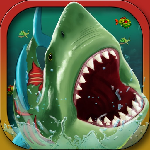 Zombie Mega Shark Attack: Big Fish Revenge iOS App