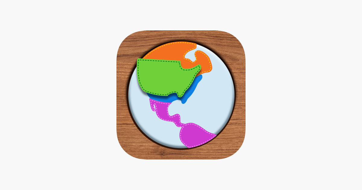 ‎Kids Maps - U.S. Map Puzzle