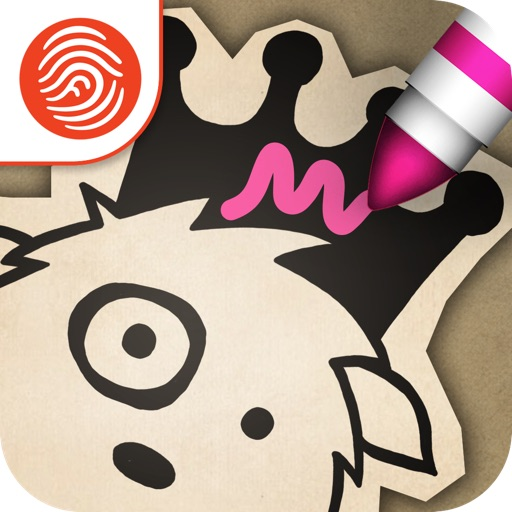 Princess Drawsalot and the Dragon Premium - A Fingerprint Network App