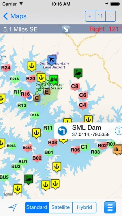 eMap SML : Smith Mountain Lake