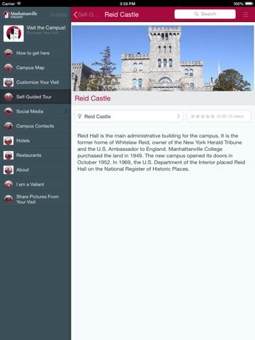 Manhattanville College App-ipad-3