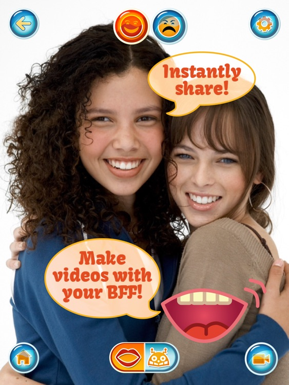 Talking Face HD Free - Photo Booth a Selfie, Friend, Pet or Celebrity Picture Into a Realistic Video screenshot-3