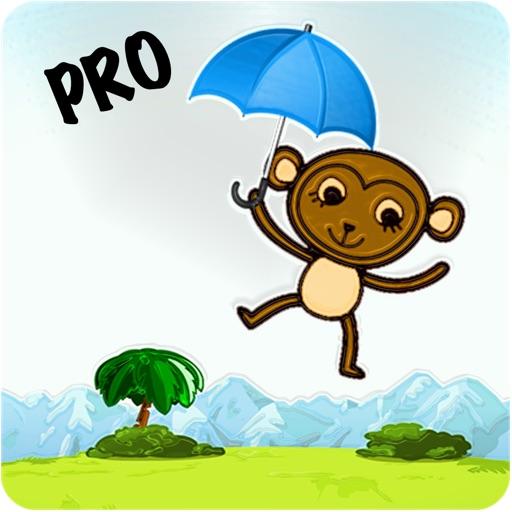 Monkey Float Jumper Flight Quest - Umbrella Floating Banana Tree World Pro