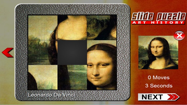 Slide Puzzle Painting (Art History)