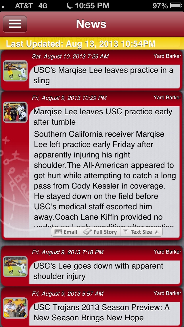 Usc Football Live review screenshots