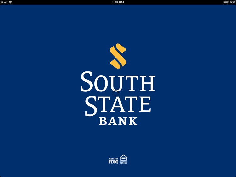 South State Mobile Banking for iPad