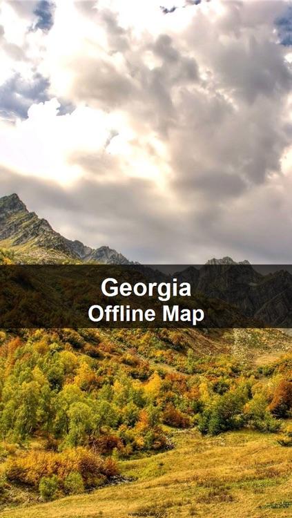 Offline Georgia Map - World Offline Maps