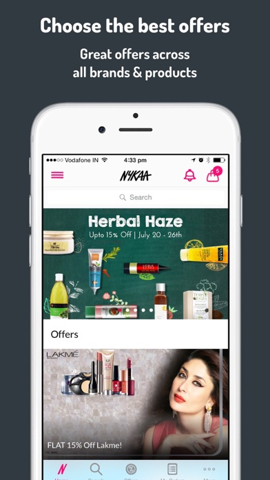 Download Nykaa – Makeup/Beauty Shopping for Pc