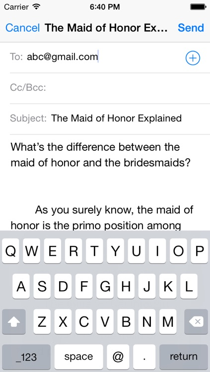 Maid of Honor Pro Guide screenshot-3