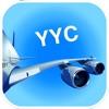 カルガリーYYC空港。 航空券、レンタカー、シャトルバス、タクシー。到着&出発。 - iPhoneアプリ