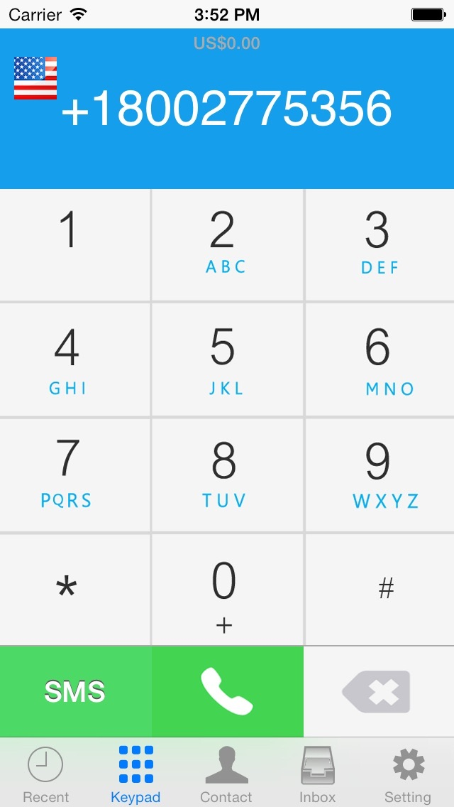 iGVoice - Google Voice™ VOIP Phone Call + SMS screenshot two