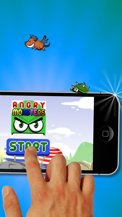 Angry Monsters Free Game screenshot-4