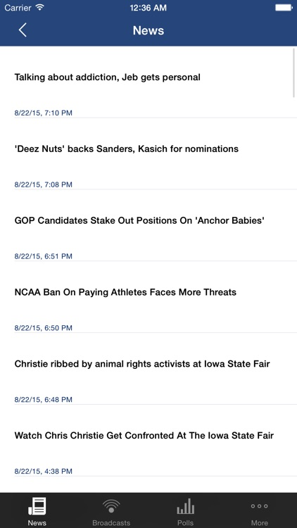 R vs D (Plus): Conservative / Liberal News and Talk Shows screenshot-3