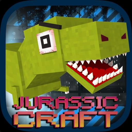 Jurassic Craft Dino Hunter - Tuvok Multiplayer With Mine Mini Skins for MC Pocket Remastered Edition