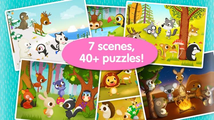 Wildlife Jigsaw Puzzles Lite screenshot-4