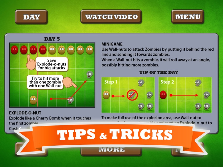 Video Guide For Plants vs. Zombies HD - Unofficial screenshot-3