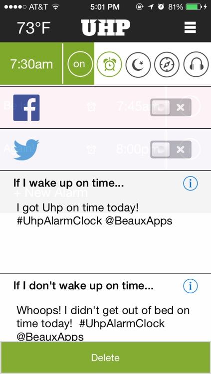Uhp Alarm Clock Pro screenshot-1