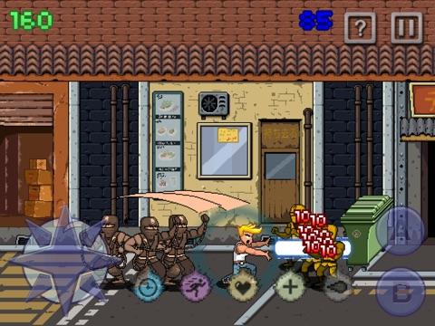 Screenshot #1 for Iron Dragon - Clash Against The Tiny Ninja Thief Force