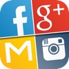My Log In! Social Network Manager for facebook, twitter, google accounts, mail, gmail, yahoo, pinterest, instagram, vimeo, skype, youtube, dropbox, linkedin and flickr. iPhone / iPad