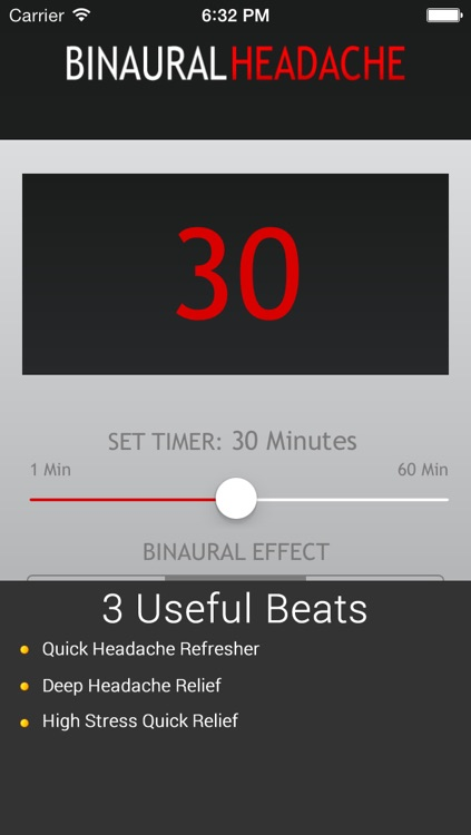 Binaural Headache Beats - Soothing Entrainment