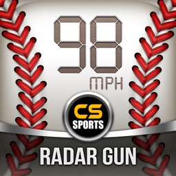 Baseball Speed Radar Gun Pro HD By CS Sports