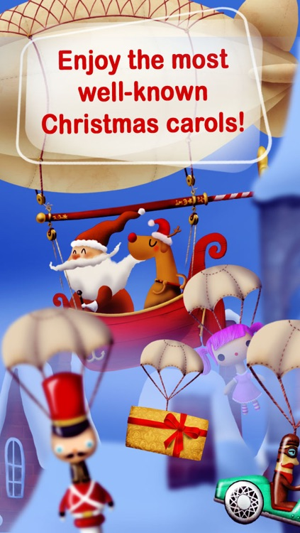Christmas Songs Machine FREE- Sing-along Christmas Carols for kids! screenshot-4