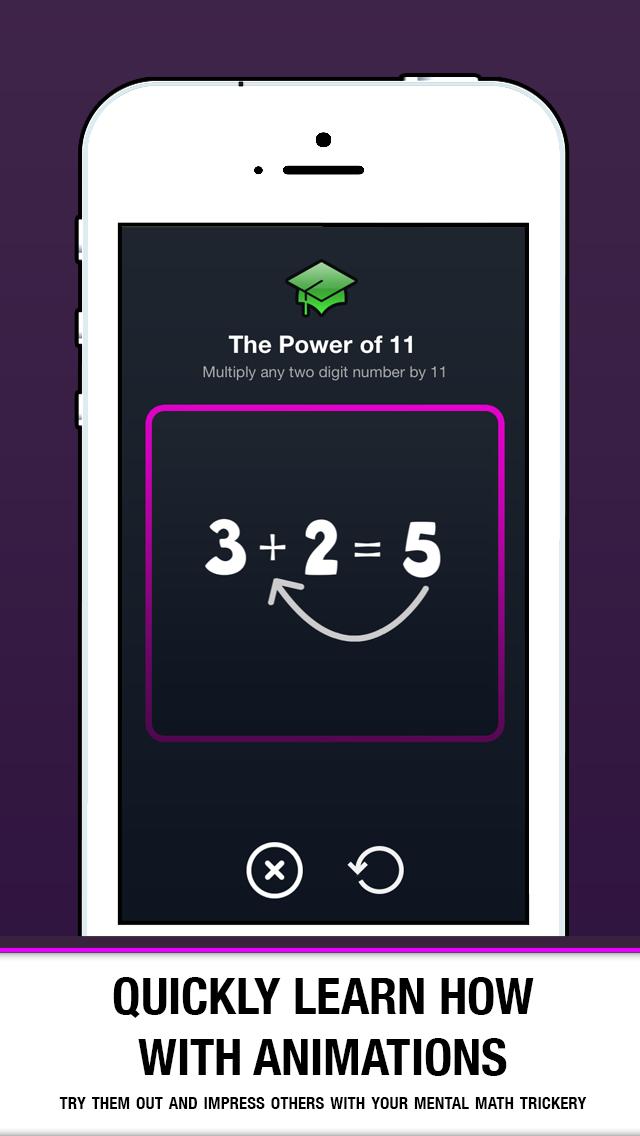 Math Trix - Learn Mental Math Tricks screenshot four