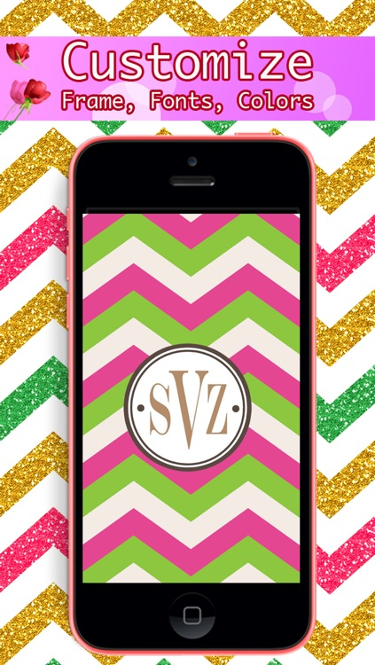 Monogram - Lock Screen & Home Screen Background Wallpaper screenshot-3