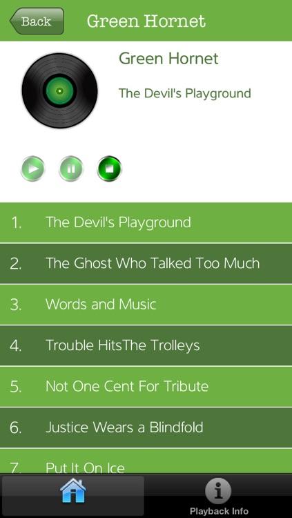 The Green Hornet Radio Show
