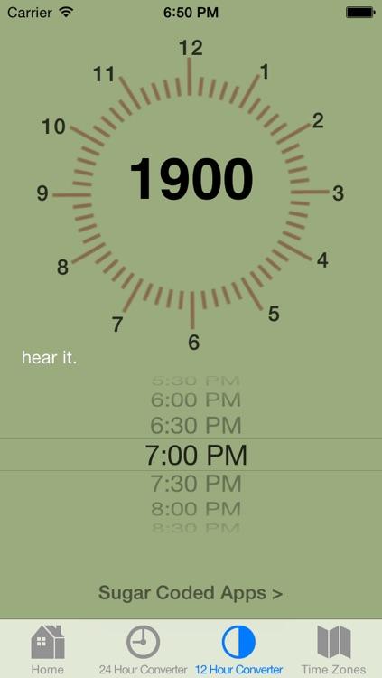 Military Time Converter screenshot-3