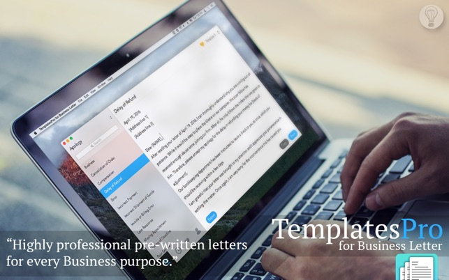 TemplatesPro for Business Letter