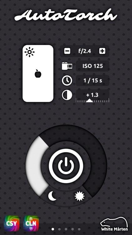 AutoTorch Exposure Meter - Digital Photometer & Magic Ambient Light Assistant