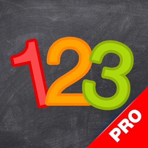 123 Genius PRO - First Numbers and Counting Games for Kids