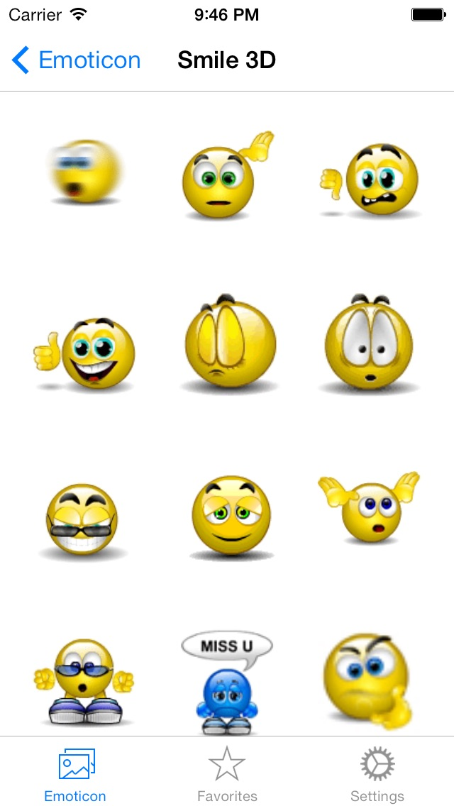 Baixar Animated 3D Emoji Emoticons Free - SMS,MMS,WhatsApp Smileys Animoticons Stickers para Android