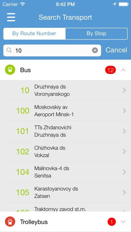 MinskRoutes: Free Minsk Public Transport Transit, Routes & Schedule
