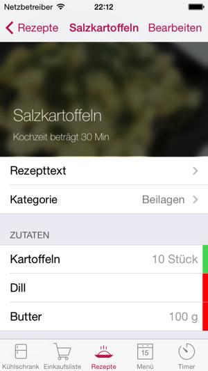 App rezepte kuhlschrank