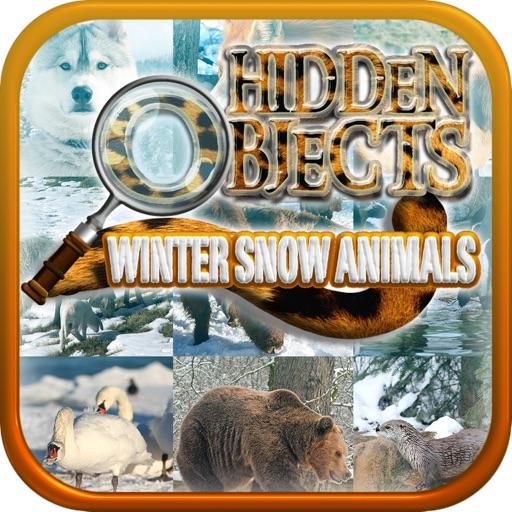 Hidden Objects - Winter Snow Animals