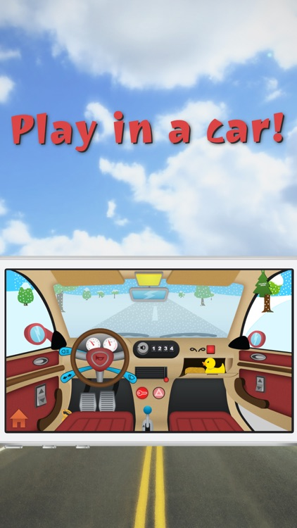 Kids and Toddlers Toy Car - Ride, Wash, Mechanics Game real world driving for little children drivers to look, interact and learn