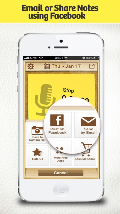 RecordMe Notes Voice Recorder App - Record Audio Memos, Business Meeting Note And School Lecture Recording screenshot-4