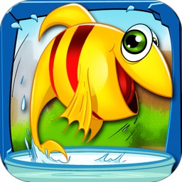A Fish-Tank Freedom - Rescue from the Ocean's Water Free Kids Fishing Game