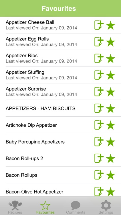 Appetizers Recipes screenshot-3