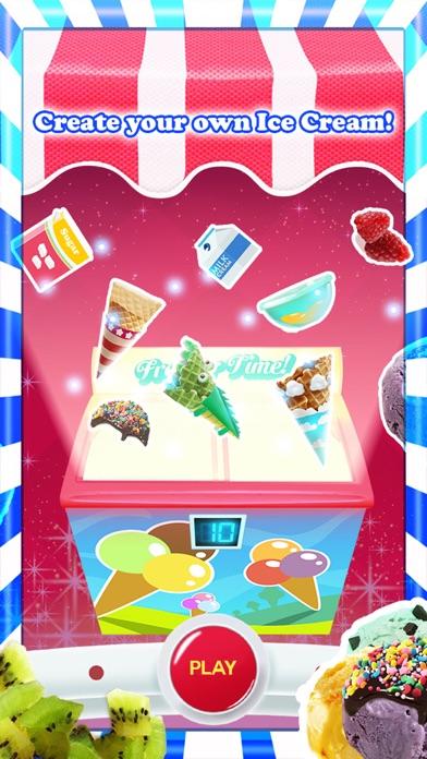 アイスクリーム - 無料ゲーム - フレーバーとトッピングのホストを使用して独自の甘いアイスクリームコーンを作るのスクリーンショット4
