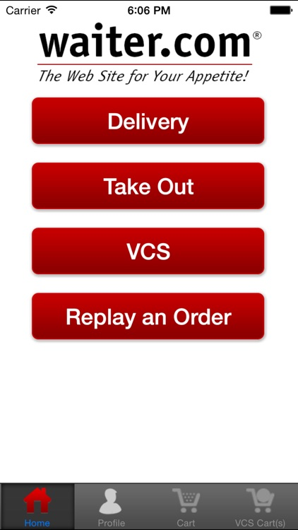 Waiter.com Food Delivery and Takeout