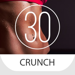 30 Day Crunch Challenge for a Flat Belly
