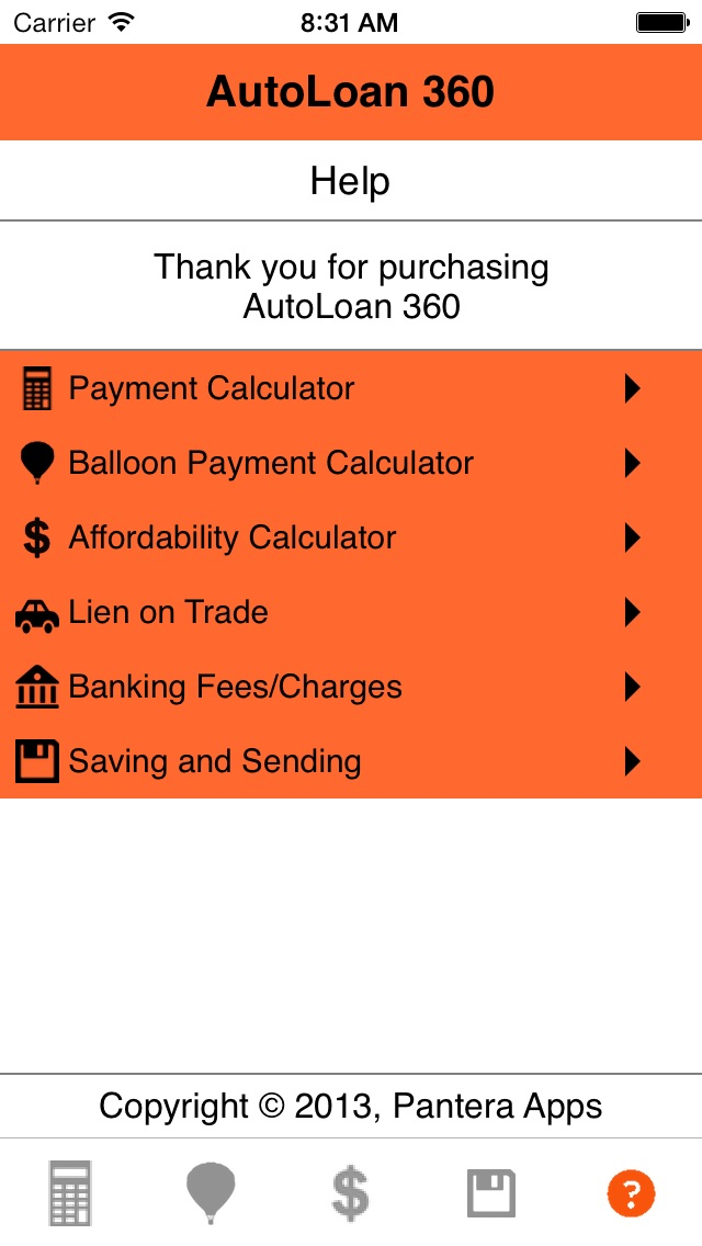 auto loan calculator with balloon