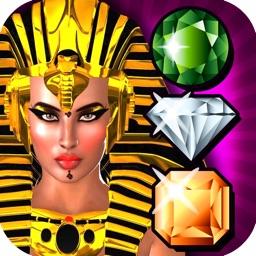 Cleopatra Egyptian Desert Curse- Match Mania Quest