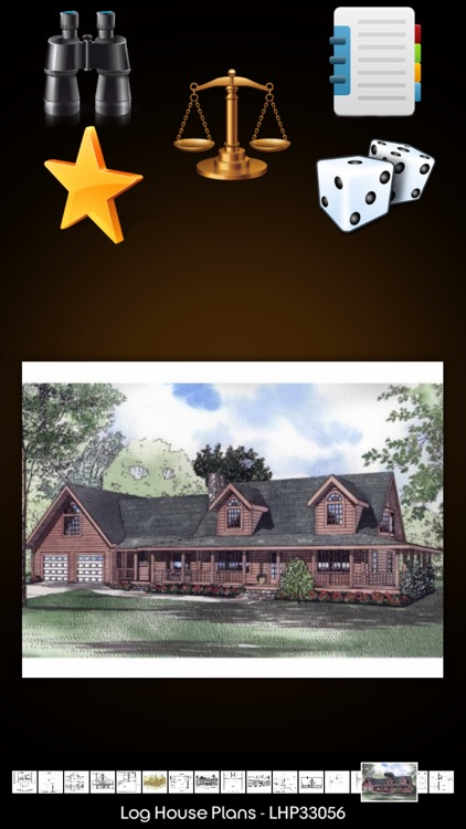 Log Style - House Plans screenshot-0